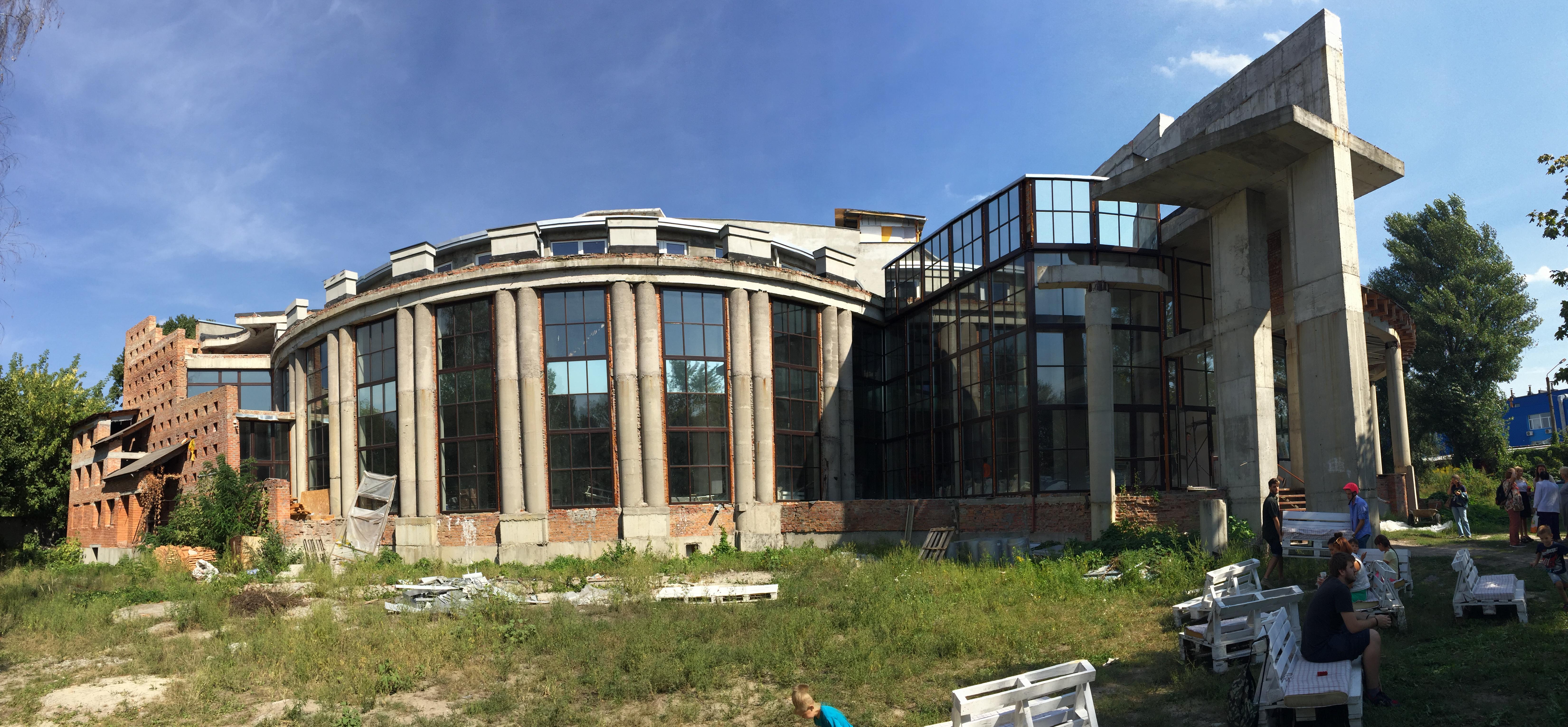 Строительство церкви Дом Небесного Архитектора, сентябрь 2016